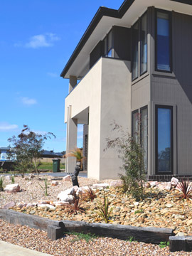 Coles lanscaping geelong and paving geelong for Landscaping rocks geelong